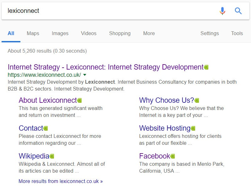 Lexiconnect Using Google